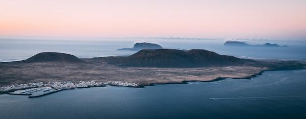 Wyspa graciosa z góry