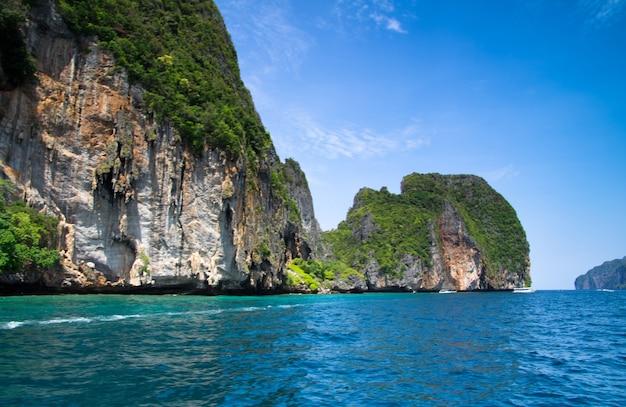 Wyspa i morze w krabi thsiland