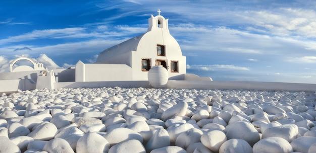 Wyspa santorini w grecji