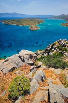 Wyspa spinalonga kreta grecja
