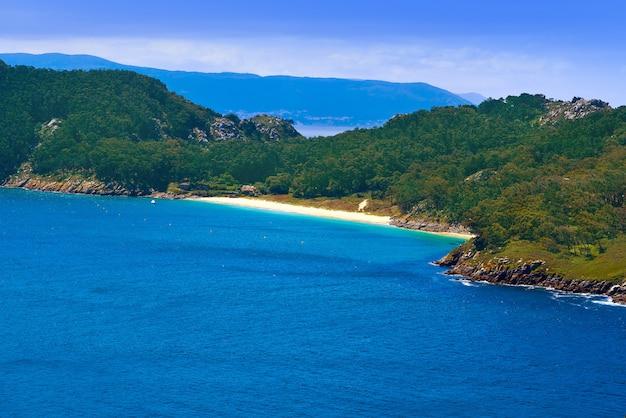 Wyspy islas cies wyspa san martino w vigo