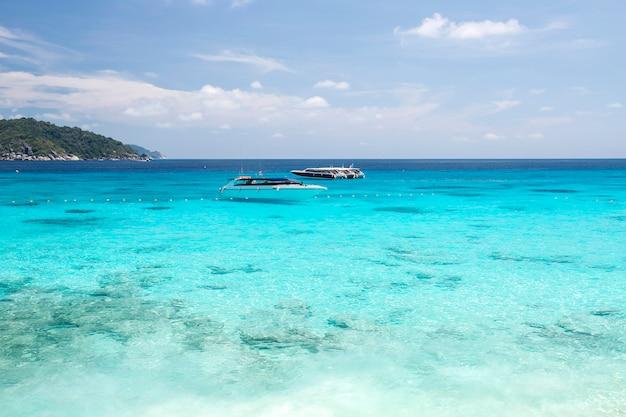 Wyspy similan, morze andamańskie, tajlandia