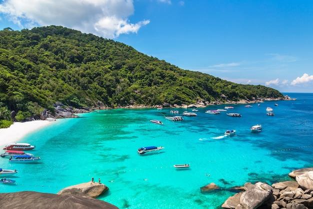 Wyspy similan, tajlandia