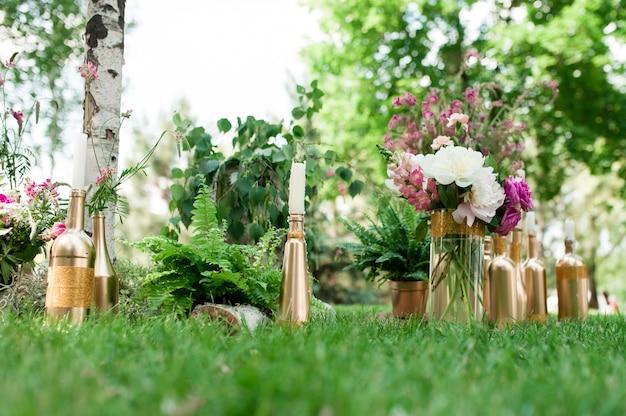 Wystrój ceremonii ślubnej