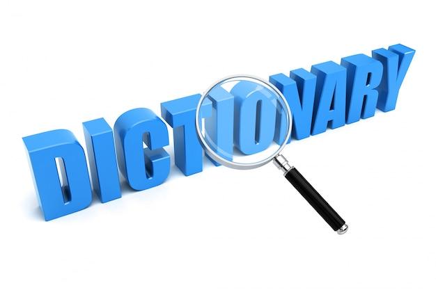 Wyszukiwanie słownika