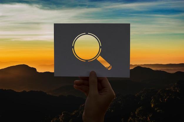 Wyszukiwanie szkła perforowane szkło powiększające