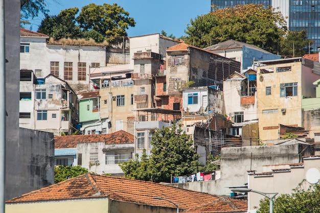 Wzgórze conceicao w centrum rio de janeiro w brazylii.
