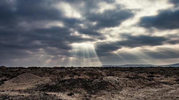 Wzgórze piasku i błota, wulkany błotne