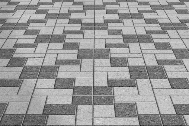 Wzór chodników chodników szary