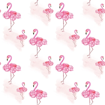 Wzór flamingo, różowy papier, papier tropical scrapbook