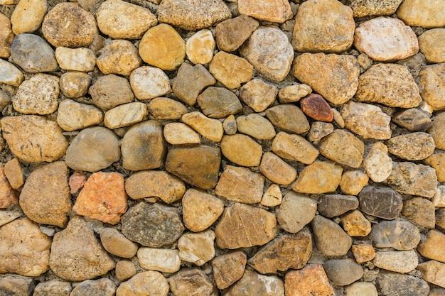 Wzór kamienny mur