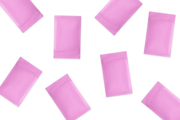 Wzór kopert bąbelkowych, koncepcja logistyczna