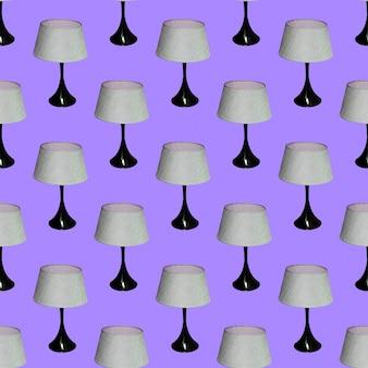 Wzór. lampa modowa. używaj do t-shirtów, kartek okolicznościowych, papieru do pakowania, plakatów, nadruku na tkaninie.