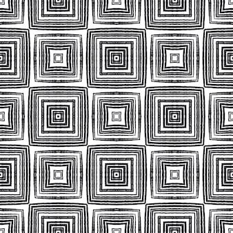Wzór mozaiki. czarne tło symetryczne kalejdoskop. tekstylny oryginalny nadruk, tkanina na stroje kąpielowe, tapeta, opakowanie. retro mozaika bez szwu.