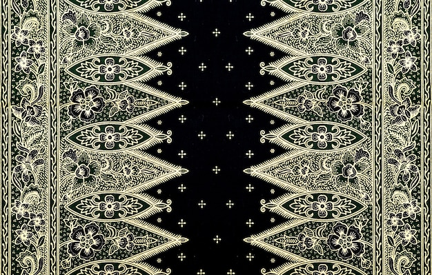 Wzór na tradycyjne stroje malezja to batik