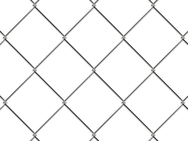Wzór ogrodzenia ogniwa łańcucha. tapeta w stylu industrialnym