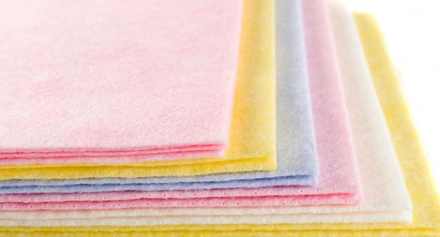 Wzór tkaniny w pastelowym kolorze
