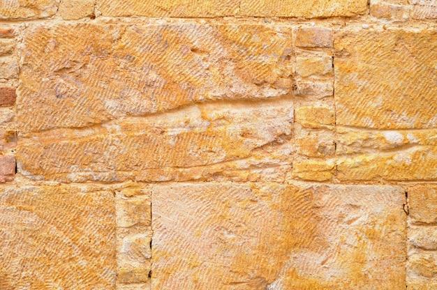 Wzór w nowoczesnym stylu dekoracyjny nierówny pęknięty prawdziwy kamień