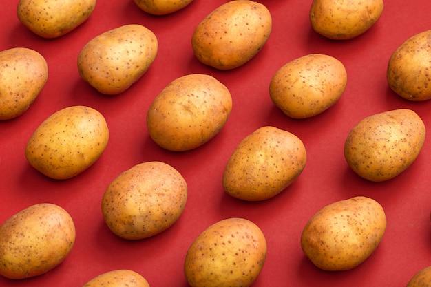 Wzór ziemniaka. ziemniak naturalny