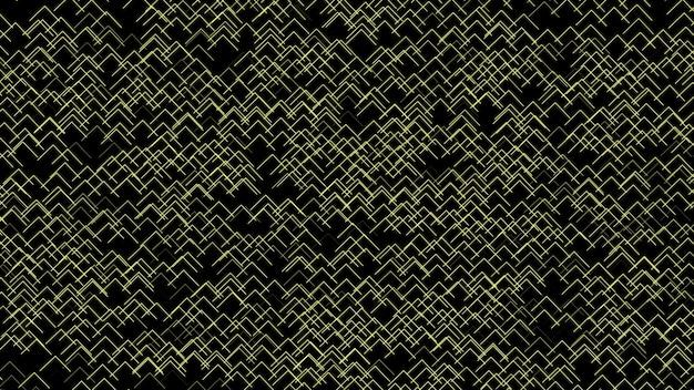 Wzór żółtej strzałki na czarnym tle