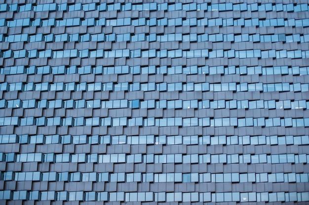 Wzorzec szklany budynek nowoczesny styl