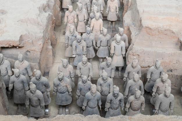 Xian china terra cotta warriors