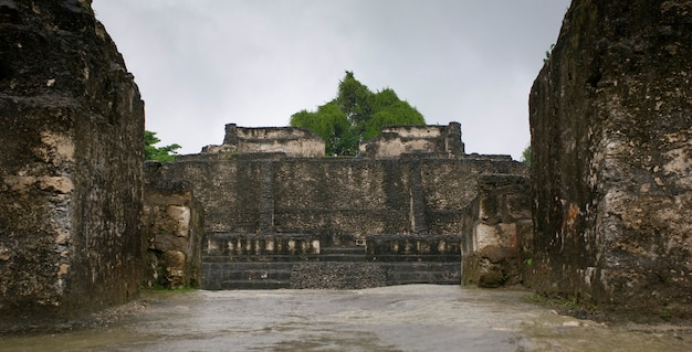 Xunantunich, ruiny majów