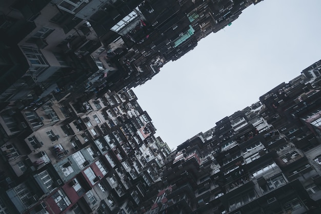 Yick tłuszczu budynku w hongkongu