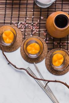 Z góry gałązka i aromaterapia