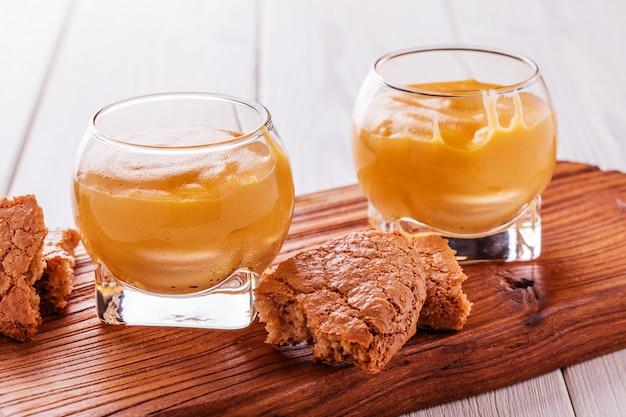 Zabaglione - włoski deser alkoholowy.