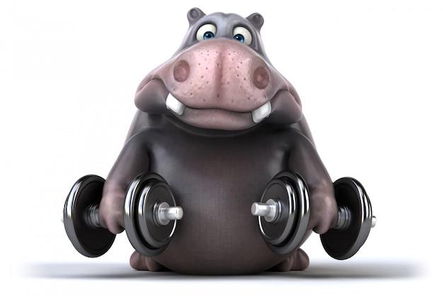 Zabawa hipopotam
