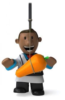 Zabawa lekarz - 3d ilustracji