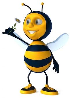 Zabawa pszczoła - 3d ilustracji