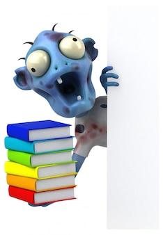 Zabawa zombie - postać 3d