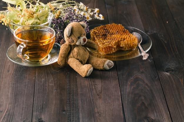 Zabawka dla dzieci z relaksującą herbatą ziołową