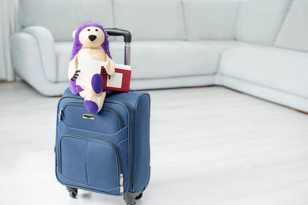 Zabawka na walizce