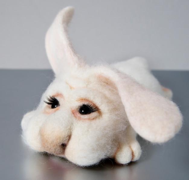 Zabawka wykonana ręcznie z filcu