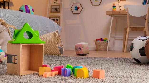 Zabawki dziecięce martwa natura
