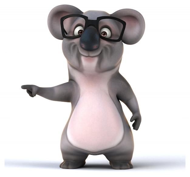 Zabawna animacja koali