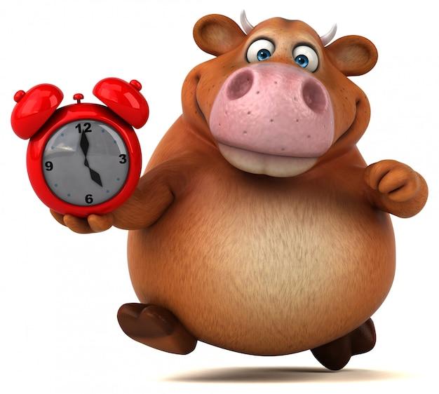 Zabawna animacja krów