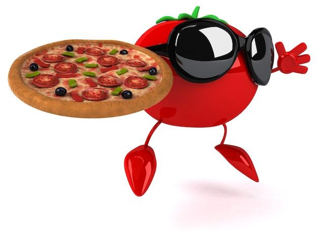 Zabawna animacja pomidorów