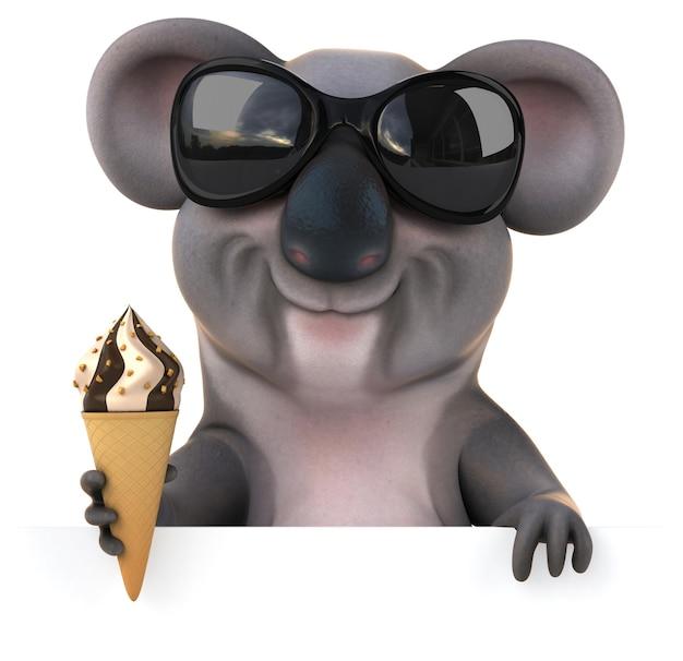 Zabawna koala