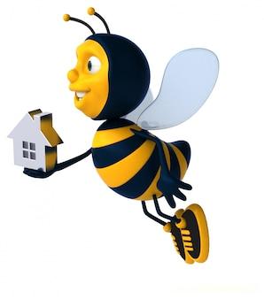 Zabawna pszczoła