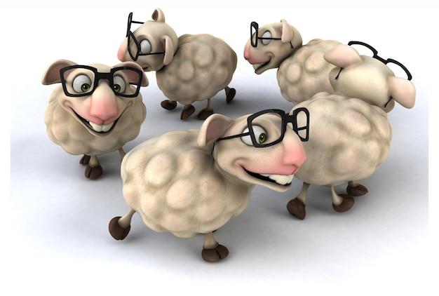 Zabawne owce