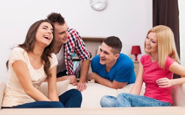 Zabawny czas z najlepszymi przyjaciółmi