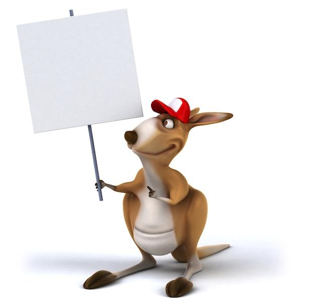 Zabawny Kangur Premium Zdjęcia