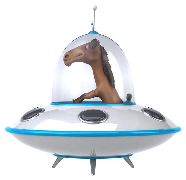 Zabawny koń
