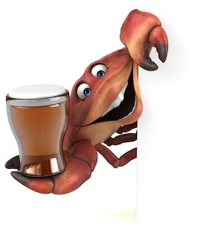 Zabawny krab