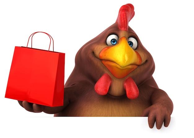 Zabawny kurczak