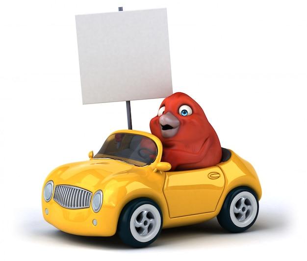 Zabawny Ptak Premium Zdjęcia